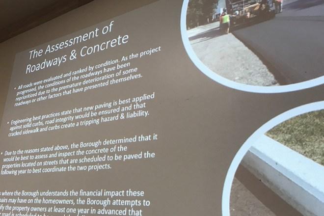George Locke Sidewalk Presentation