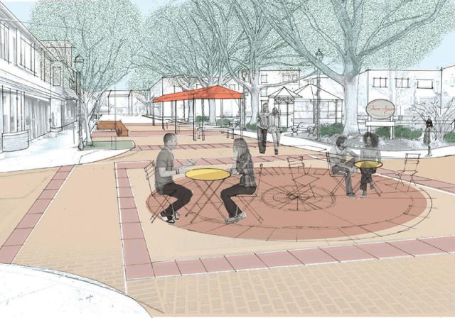 Jenkintown 2035 rendering