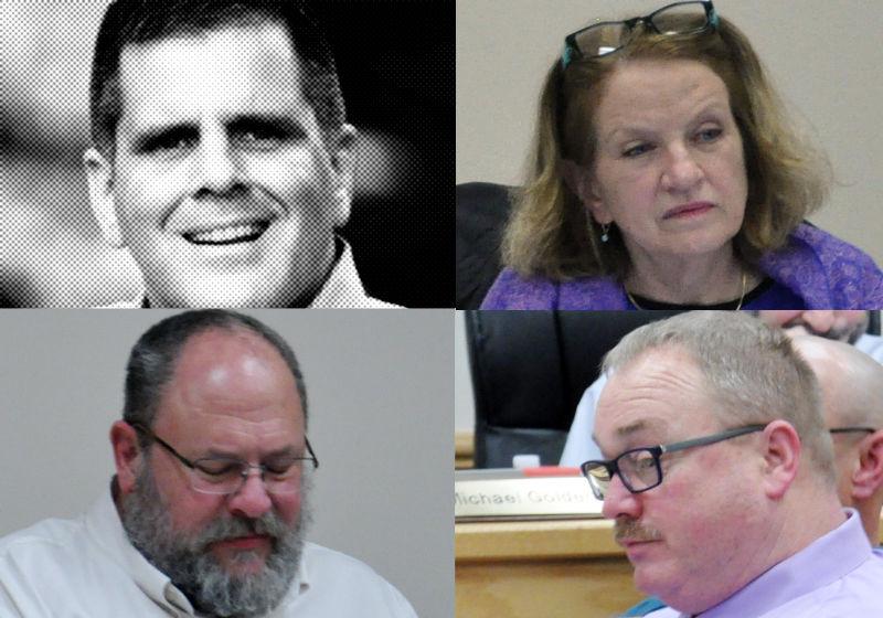 Sean Kilkenny, Deborra Sines-Pancoe, Rick Bunker, George Locke