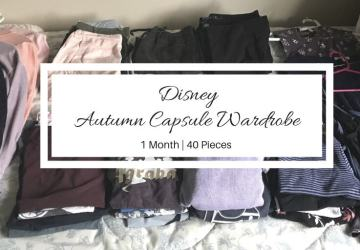 autumn disney capsule wardrobe collection