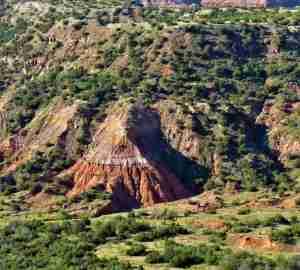 palo duro canyon sunrise texas