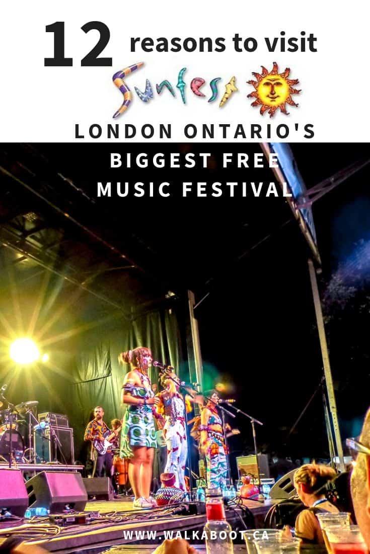 Sunfest London Ontario
