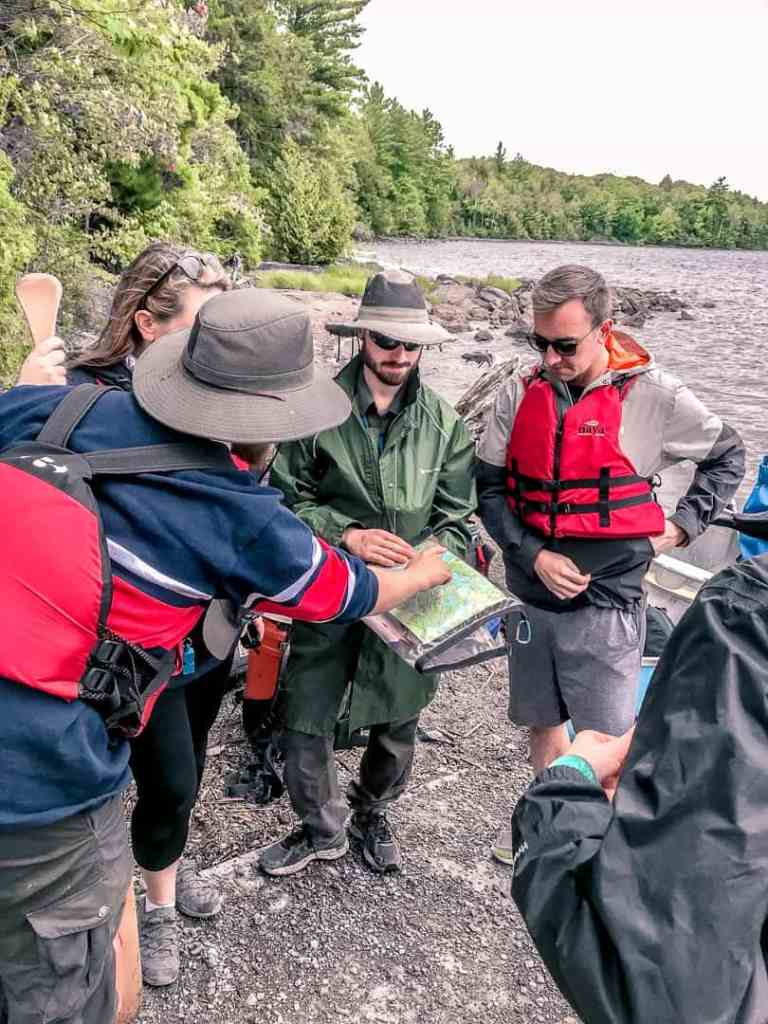 guided canadian canoe trip kawarthas