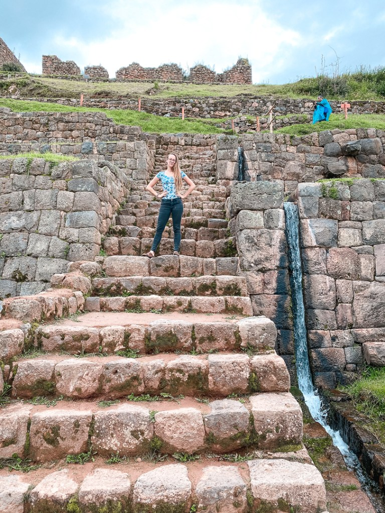 Tipon ruins outside of Cusco
