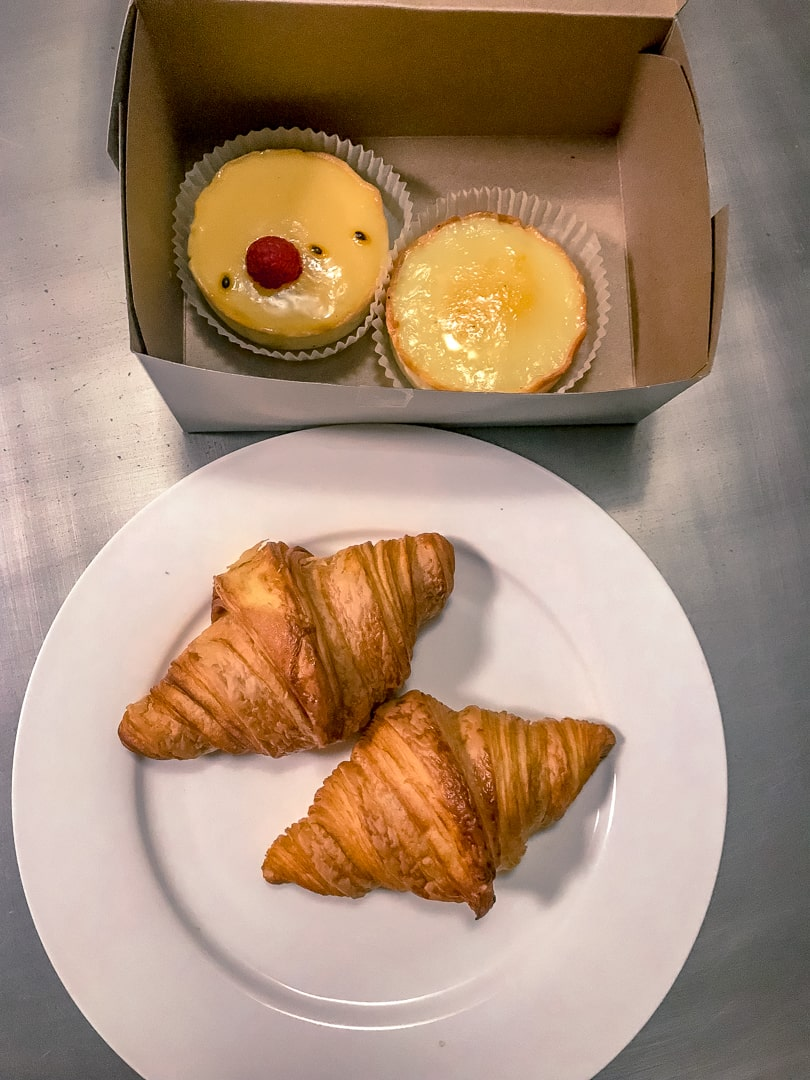 Pastries and Croissants from Eric the Baker a bakery in Guelph