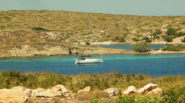 Crociera in barca vela all' Isola di Arki Dodecaneso Grecia