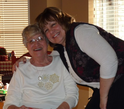Mom and me cropped