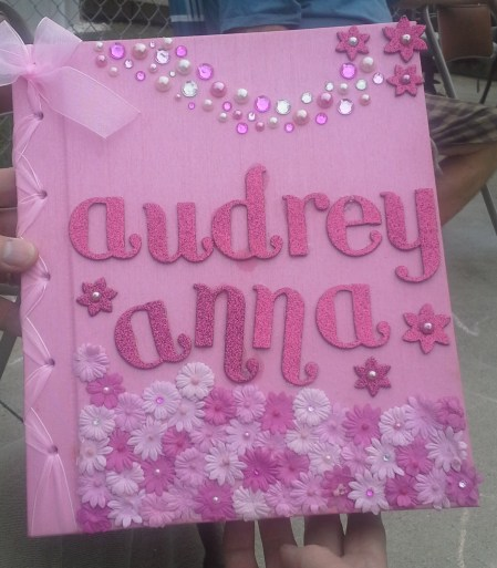 Audrey scapbook