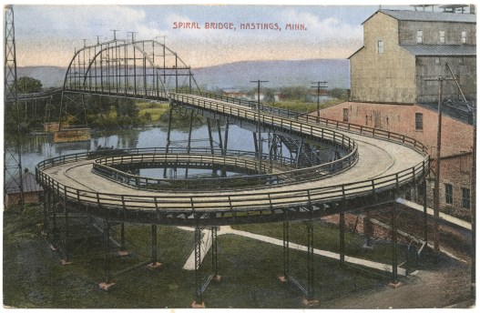 I doubt Hastings UK will have a spiral bridge, but we can hope!