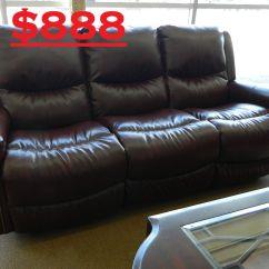 Reclining Sofa On Clearance Pottery Barn Charleston Craigslist La Z Boy Duncan Was 2 099 Price