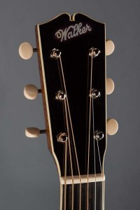photo of Walker Guitars Style B Deluxe headstock
