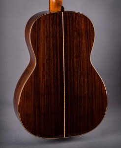 Kim Walker guitar with Rosewood back