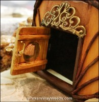 Opened fairy door