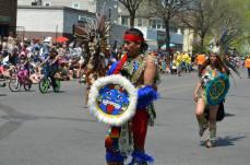 Parade Aztec dancers4