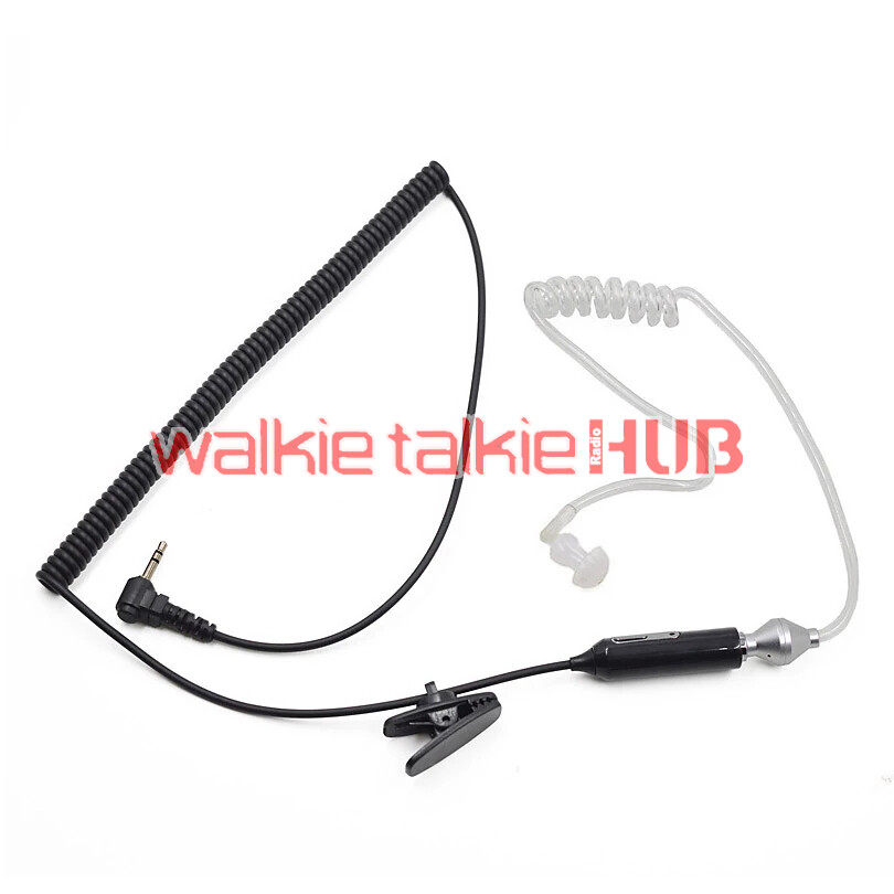 2.5mm FBI Air Tube Earpiece Mic for Motorola TLKR T60 T80