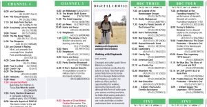The Telegraph's recommended viewing for Easter Friday