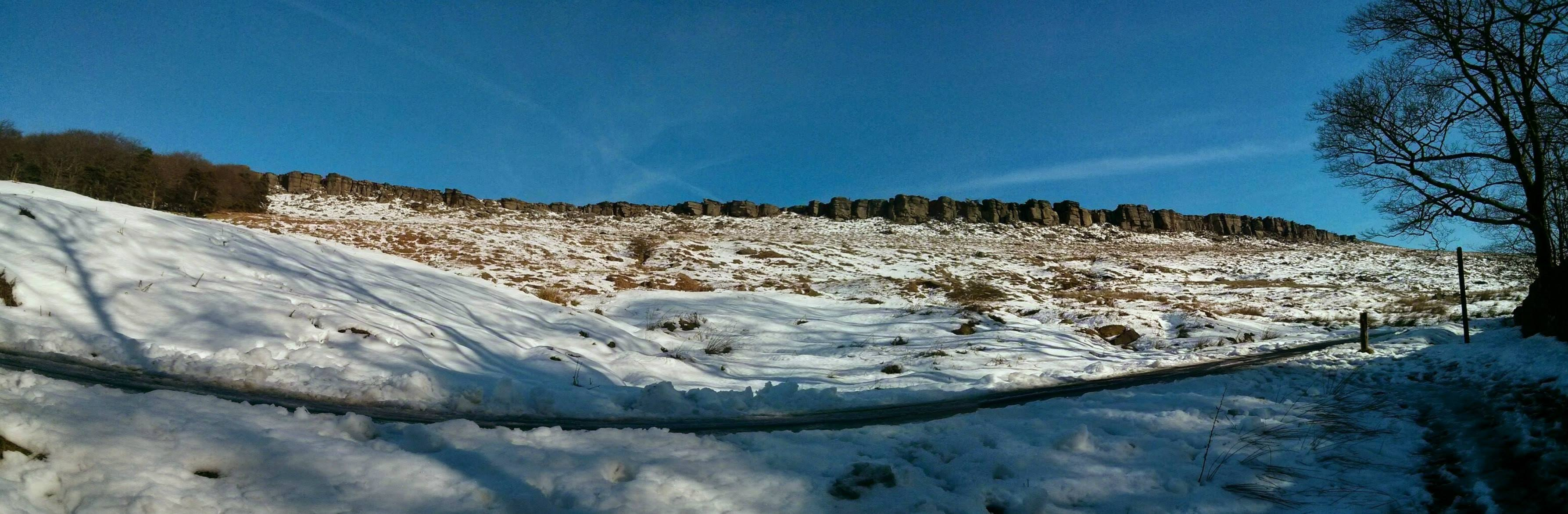 Stanage from the road