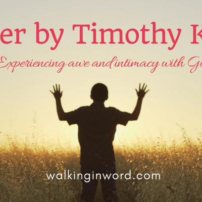 Prayer by Timothy Keller – A Book Review