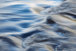 Untitled (Wharfe Study #1), Abstract photograph of running water on the river Wharfe, Yorkshire