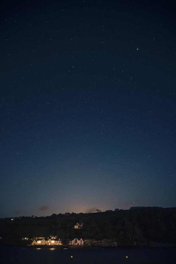 Starry Night Sky pver Salcombe