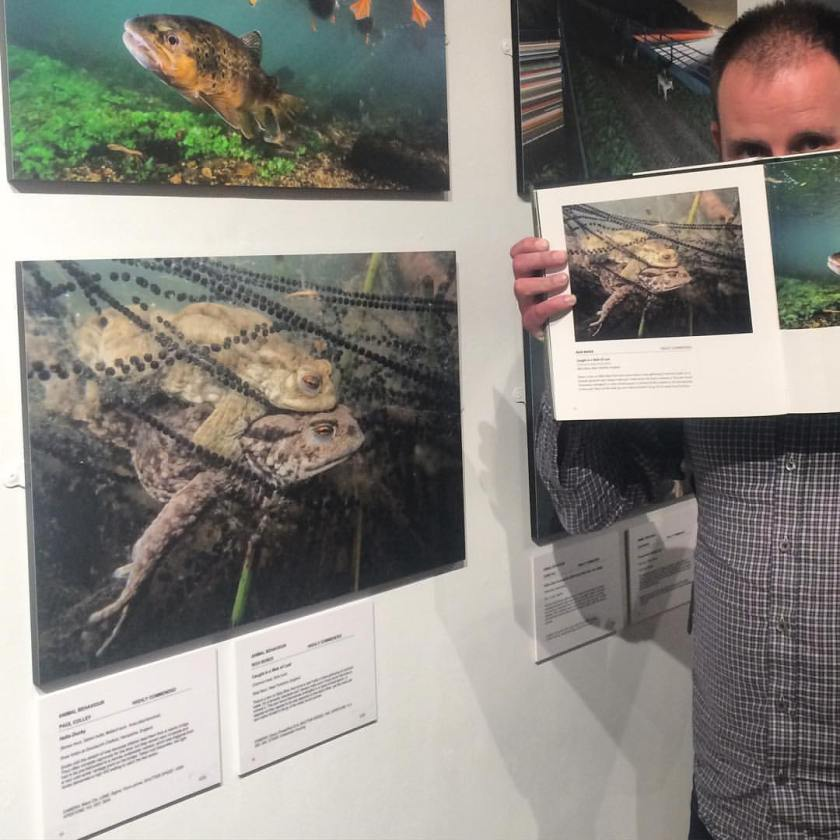 Rich Bunce Walking Photographer at British Wildlife Photography Awards