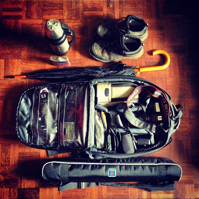 Walking Photography Camera Gear