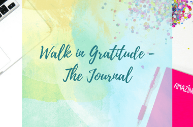 Walk in Gratitude Journal