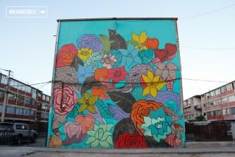 """""""Las Flores"""" Colectivo Están Pintando - 2013"""