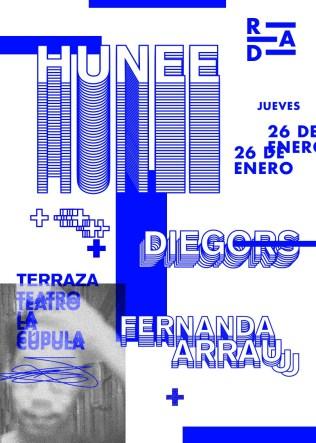 RAD - HUNEE - RAD - 26 - enero - Teatro La Cúpula