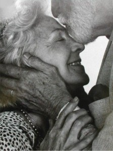 """A reporter asked the couple, """"How did you manage to stay together for 65 years?"""" The woman replied, """"We were born in a time when if something was broken we would fix it, not throw it away..."""""""