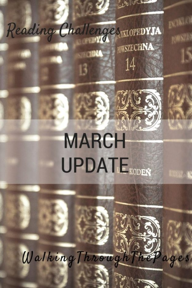 2016 Reading Challenges March Updates
