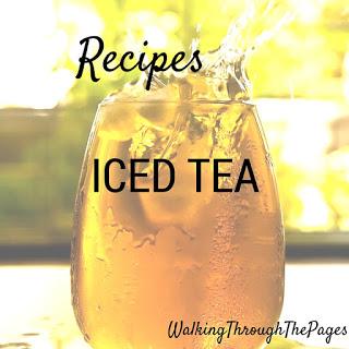 Recipes #4: Favourite Iced Tea