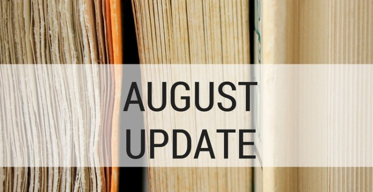 2017 Reading Challenges: August Update