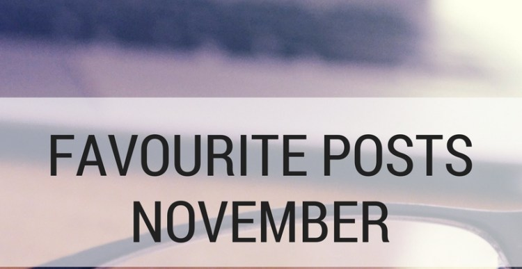 Weekly Lists #112: 5 Favourite Blogposts November