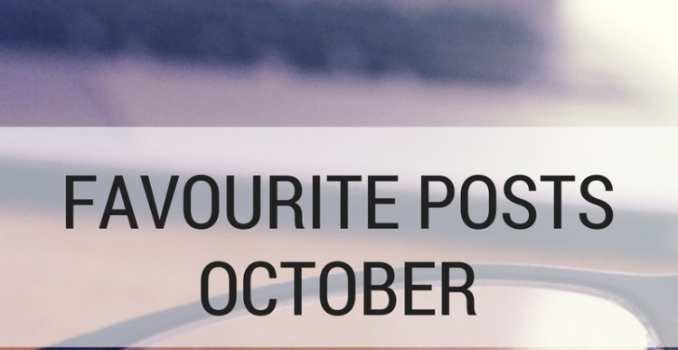 Weekly Lists #108: 5 Favourite blogposts October