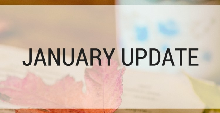 2018 Reading Updates: January Update