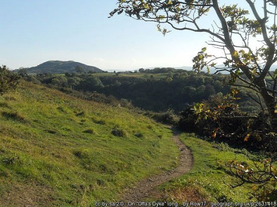 Offa's Dyke fromBodfari – Prestatyn