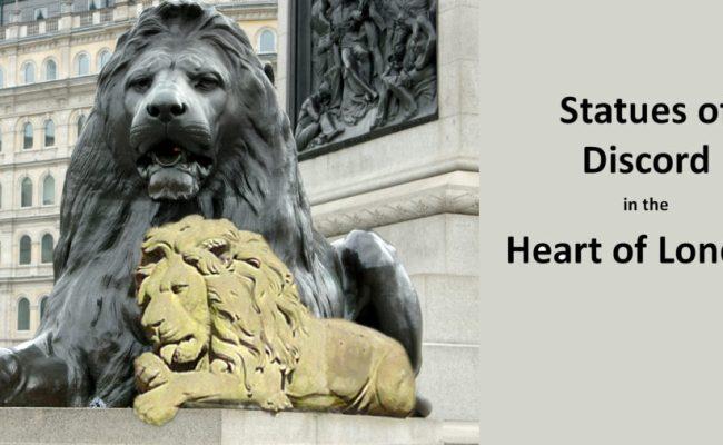 Statues Of Discord The Virtual Tour London Walks