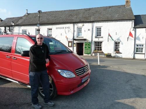 The Bridge End Inn, Crickhowell and The Vito Sport