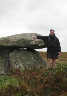 Chun Quoit Cornwall South West Coastal Path Walking Route