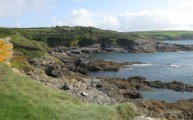 The Quiet Coastline of the South West Coastal Path in Cornwall