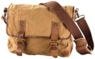 Timberland Canvass Messenger Bag - Walks And Walking