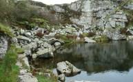 Disused Quarry 3 The Hurlers Walking Route Bodmin Moor Cornwall Walks - Walks And Walking