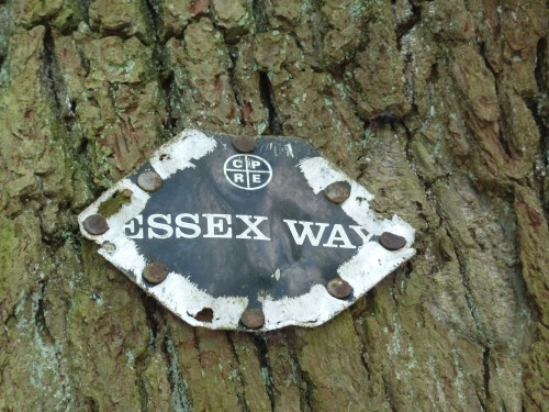 Walks And Walking - Essex Walks The Essex Way to Epping Walking Route - Original Way Markers
