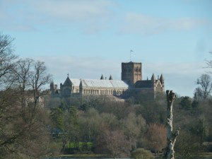 Walks And Walking - Hertfordshire Walks - St Albans Walking Route - St Albans Cathedral