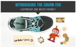 Walks And Walking - TEVA Churn Evo Lightweight Water Friendly Walking Shoes