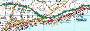 Walks And Walking - Kent Walks Dover to Folkestone Walking Route 2