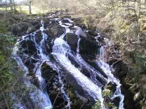 Walks And Walking - Wales Walks Snowdonia Betws-y-Coed Walking Route - Afon Llugwy river