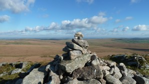 Walks And Walking - Cornwall Walks Bodmin Moor Rough Tor And Brown Willy Walking Route - On top of Brown Willy