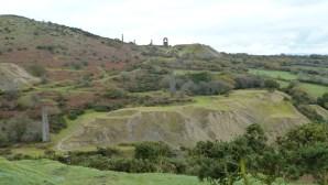 Walks And Walking - Cornwall Walks Bodmin Moor Caradon Hill Walking Route - Disused Mines